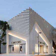 Home Design Center Miami Aranda Lasch Creates Pleated Concrete Facade For Tom Ford Flagship