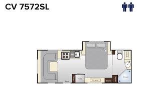 topaz caravan floorplans