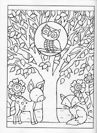 fall coloring pages grown ups free printable 4c9n1
