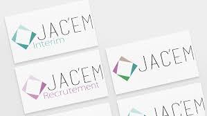 bureau d int駻im logo pour une agence d interim création de site pas cher