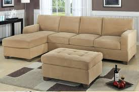 small leather sectional sofa with chaise recliner and reversible