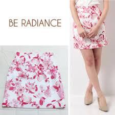 be radiance ビーラディエンス ミニスカート 花柄 の通販 315点 be radianceの