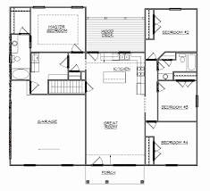 ranch home floor plans with walkout basement 55 awesome photograph of ranch floor plans with basement house