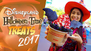 disneyland u0027s halloween time treats 2017 youtube