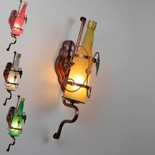 beer bottle light fixture free shipping iron classical new modern frosted glass beer bottle
