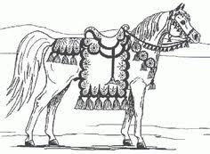 carousel horse aquatica by requay on deviantart coloring pages