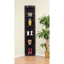 Wood Corner Bookcase Canaan Corner Unit Bookcase Corner Bookcase Furniture 5 Open