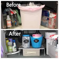Under Kitchen Sink Storage Ideas Easy Under The Kitchen Sink Storage Ideas In 30 Minutes Or Less