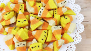 Halloween Cookie Cakes How To Make Halloween Candy Corn Cookies Youtube