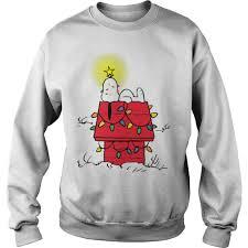snoopy christmas sweatshirt peanuts snoopy christmas sweater shirt hoodie and