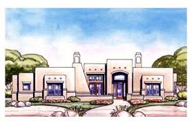 adobe style home plans adobe house plans simple 6 adobe house plan with 3838 square