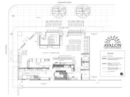 Bakery Floor Plan Layout Avalon Cafe And Bakery Lands Downtown In April Eater Detroit