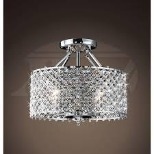 chrome flush mount light flush mount crystal ceiling light designs intended for amazing