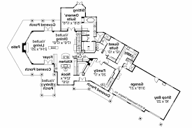 craftsman style house floor plans craftsman house plans brookport 30 692 associated designs