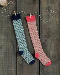 flower trellis knee socks woman