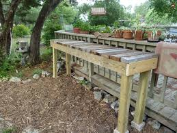 plant benches 14 simple furniture for greenhouse plant bench plans