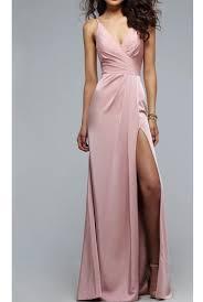 silk dresses faviana 7755 dusty pink gown silk satin dress poshare