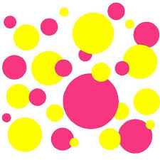 yellow with pink polka dots 25 best letter decor images on pinterest child room babies rooms