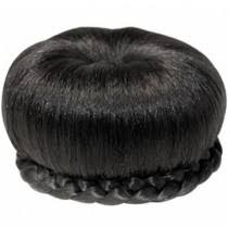 black hair buns for sale domes buns hair pieces