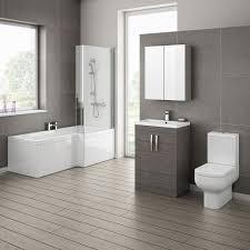 Cheap Modern Bathroom Suites Ultra Modern Bathroom Black And White Grey Avola
