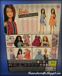 Barbie Style Doll Reviews And by Monster Crafts Doll Review Barbie Fashionistas Petite