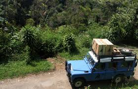 land rover bandung berbagi kawasan di gunung tilu antara manusia dan primata