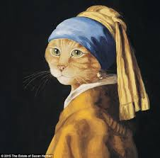 vermeer girl with pearl earring painting from mona to ophelia most artworks re imagined with