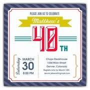 40th birthday invitations u2013 gangcraft net