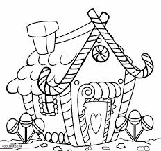 printable gingerbread house coloring pages kids cool2bkids