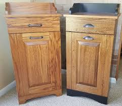 tips pull out trash cabinet tilt out trash bin wood kitchen