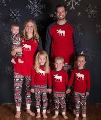 2017 new family moose pajamas sale high quality