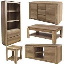 oak bookshelf bookside tv unit stand coffee lamp table sideboard