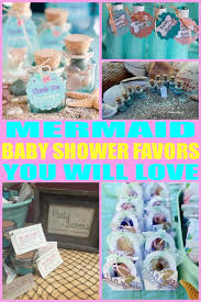 mermaid baby shower decorations baby shower favors