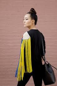 black fringe sweater fringe baby annchovie