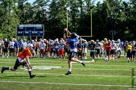 bentley college football ne elite clinic photos courtesy of alec turner