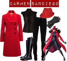 Plug Costume Halloween 25 Carmen Sandiego Ideas Carmen Sandiego Game