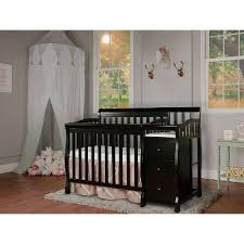 Black 4 In 1 Convertible Crib Black 4 In 1 Convertible Crib Changer Rc Willey