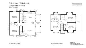 3rd street house 5br 2ba whole house universityrentalinfo com floor plans