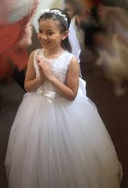 holy communion dress cerimonia carrie tulle communion dress with removable hoops petit