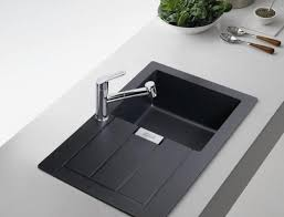 black kitchen sink faucets black kitchen sinks home design ideas and pictures