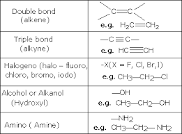 chem guide functional groups and homologous series
