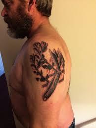 sacred eagle heart by ben spangler iv horsemen tattoo parlor