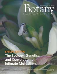 american journal of botany special issues