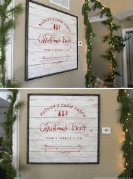 farm fresh christmas trees sign mountainmodernlife com