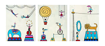 made by joel new circus coloring sheets
