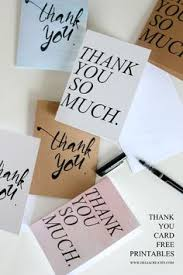 rainbow thank you cards a free printable gifts and