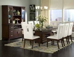 Contemporary Dining Room Lighting Ideas Vintage Style Table Decor - White modern dining room sets