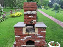 Chiminea With Pizza Oven Chiminea Clay Outdoor Fireplace With Pizza Oven U2014 Farmhouses