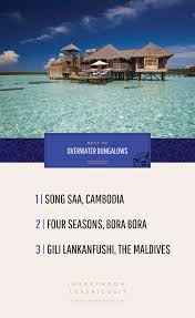 the best of overwater bungalows ever after honeymoons blog