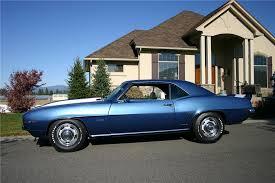 dusk blue camaro 1969 chevrolet camaro z 28 coupe 116192